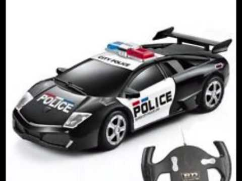 Rc Police Car Remote Control Toy Youtube
