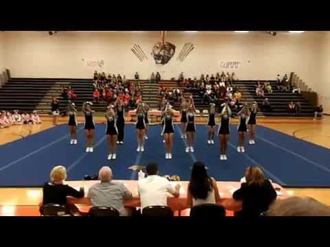 Manassas Park High SchoolConference 27 Cheer 2014