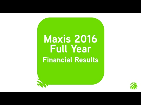 Maxis 2016 Full Year Financial Results