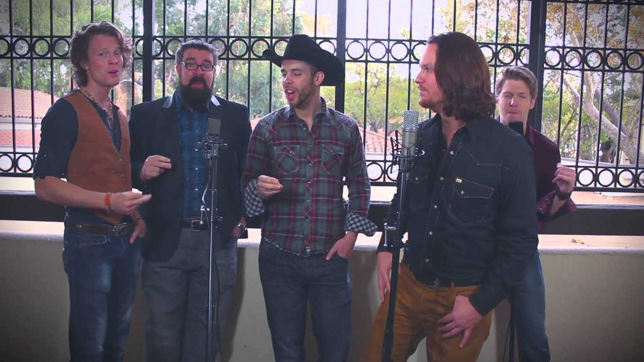 Josh Turner Your Man Home Free a cappella cover LIVE