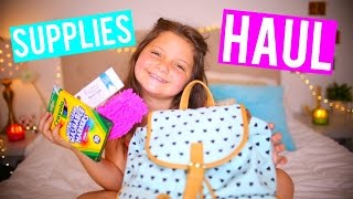 BACK TO SCHOOL SUPPLIES HAUL + GIVEAWAY 2016