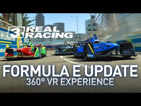 Formula E Available On Real Racing 3! (360° VR Experience)
