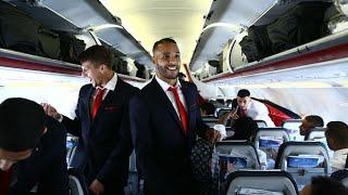 Η πτήση του Ολυμπιακού για τo Μόναχο! / Olympiacos' flight to Munich!