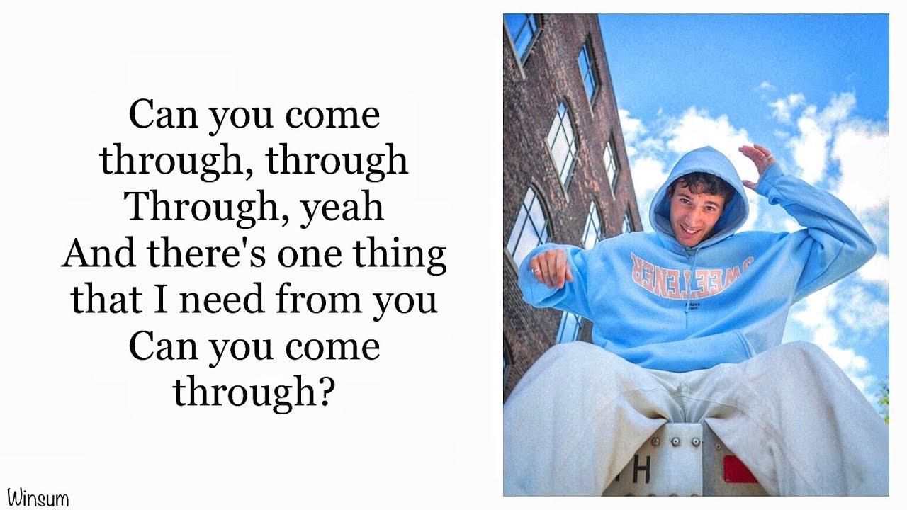 Download Jeremy Zucker - comethru (Lyrics)