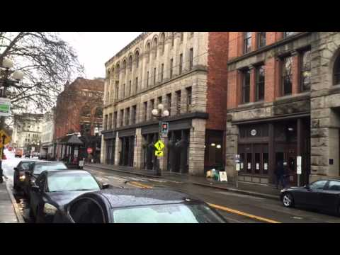 Pioneer Square, Seattle - On the Road with Roger