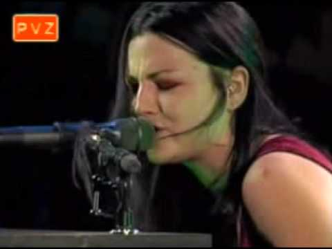 amy lee evanescence   thoughtless korn cover