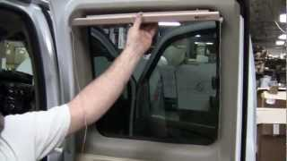Conversion Van Bind Installation - How to install some Shades.
