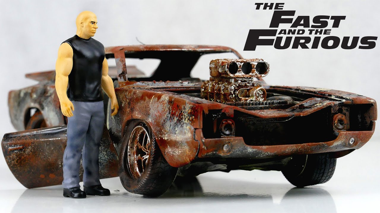 Restoration Fast & Furious Dom Toretto's Dodge Charger RT muscle car