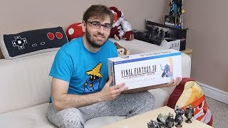 FINAL FANTASY XII: THE ZODIAC AGE - Unboxing da Edição de Colecionador! (FF12 Collector's Edition)