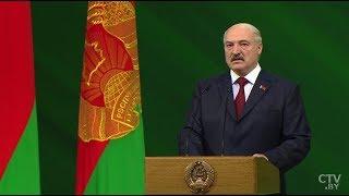 100 лет Вооружённым Силам Беларуси | Выступление Лукашенко