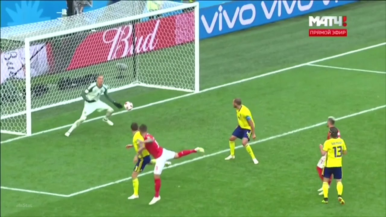2018 World Cup Robin Olsen highlights