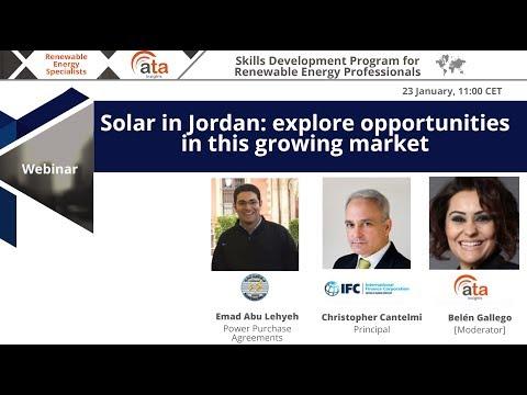 Solar in Jordan: explore opportunities in this growing market