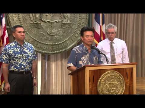 Acting Governor Shan Tsutsui Media Availability (following F