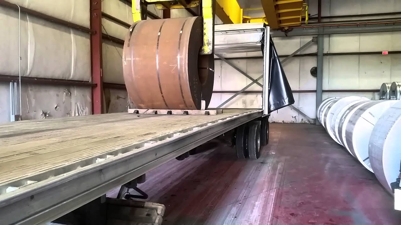 Loading A 50 000 Lb Steel Coil