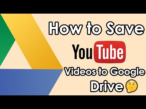 How to Save YouTube Videos to Google Drive - Hindi | Apne YouTube Ka Kaise Backup Le.!!