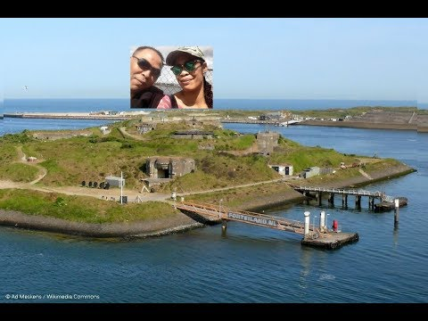 IJmuiden Fortress  Netherlands ''The Tour'' From The Ghost Hunters International Part1 2017  (Dutch)