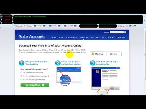 Solar Account XSS Report