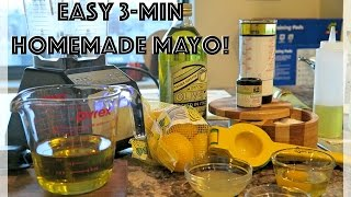 Easy Homemade Mayonnaise - Paleo And Whole 30 Friendly!