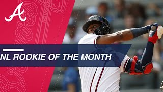 Ronald Acuna Jr. named National League Rookie of The Month