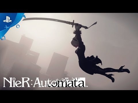 NieR: Automata – Death is Your Beginning Launch Trailer | PS4