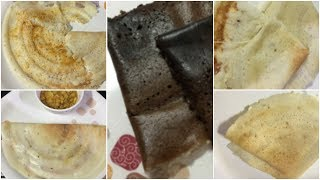 5 Variety dosas  ||cheese dosa ,chocolate dosa,upma dosa onion dosa ,kandi podai dosa