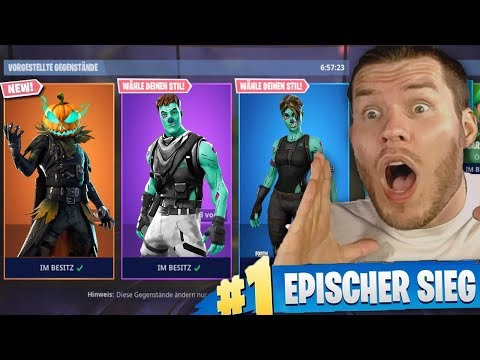 die *NEUEN* HALLOWEEN Skins! in Fortnite