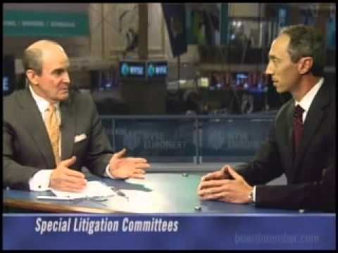 Special Litigation Committees
