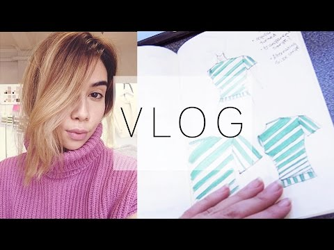 FABRIC SHOPPING IN LONDON! | Fashion Design at University Vlog #2