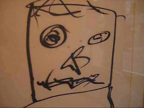 William Burroughs at Stellan Holm, NYC (Sept 2009)