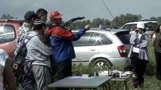 Начало соревнований по ловле фидером в г. Бийске