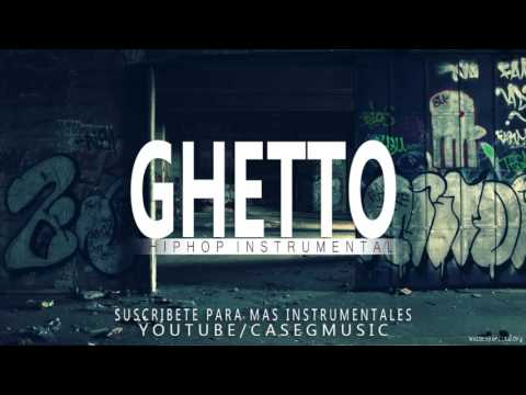 BASE DE RAP -  LA MALDITA VIDA EN EL GHETTO  - HIP HOP BEAT INSTRUMENTAL