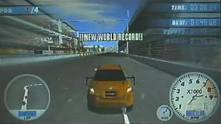 Juiced: Eliminator Sony PSP Gameplay - Orange Drivin