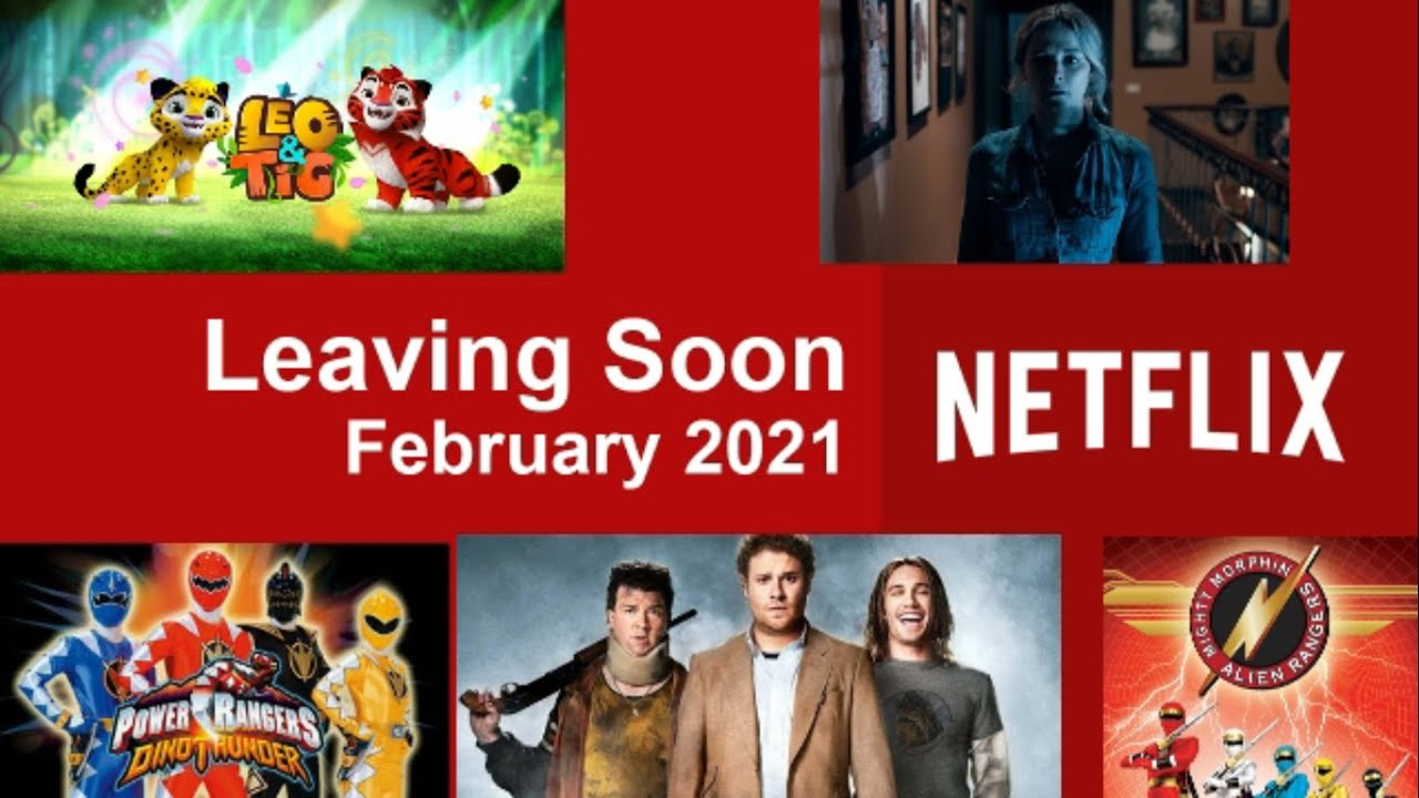 Netflix: Movies and TV Shows Leaving in February