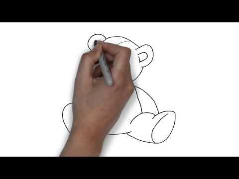 How To Draw Teddy Bear Youtube