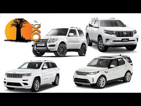 JEEP GRAND CHEROKEE, DISCOVERY, PAJERO, PRADO. The Best 4x4 Off-road SUVs