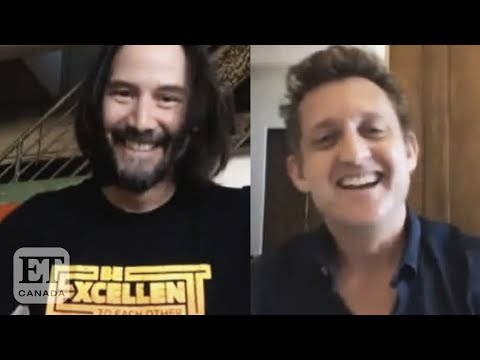 Keanu Reeves And Alex Winter Reunite In 'Bill And Ted Face The ...