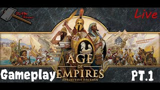 Age of Empires: Definitive Edition Live Gameplay(Steam)