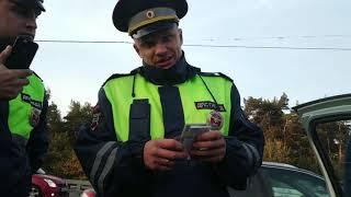 Убрал мусор с дороги и мусор обиделся. Подлая месть гаишников ДПС Москвы ЮВАО.  Часть 1