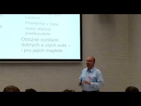 Mobily, senzory a využití davu: Václav Matyáš at TEDxBrnoSalon