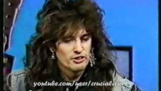 Vince Neil & Tommy Lee Interview (1987)