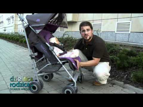 MacLaren Techno XLR, Video-test Wózka