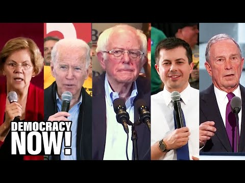 As Bernie Sanders Surges Ahead of Iowa Caucus, DNC Under Fire For Changing Rules to Help Bloomberg