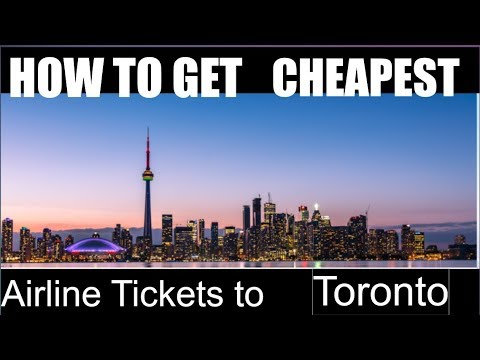 How To Buy A Cheap Airlines Tickets To CANADA