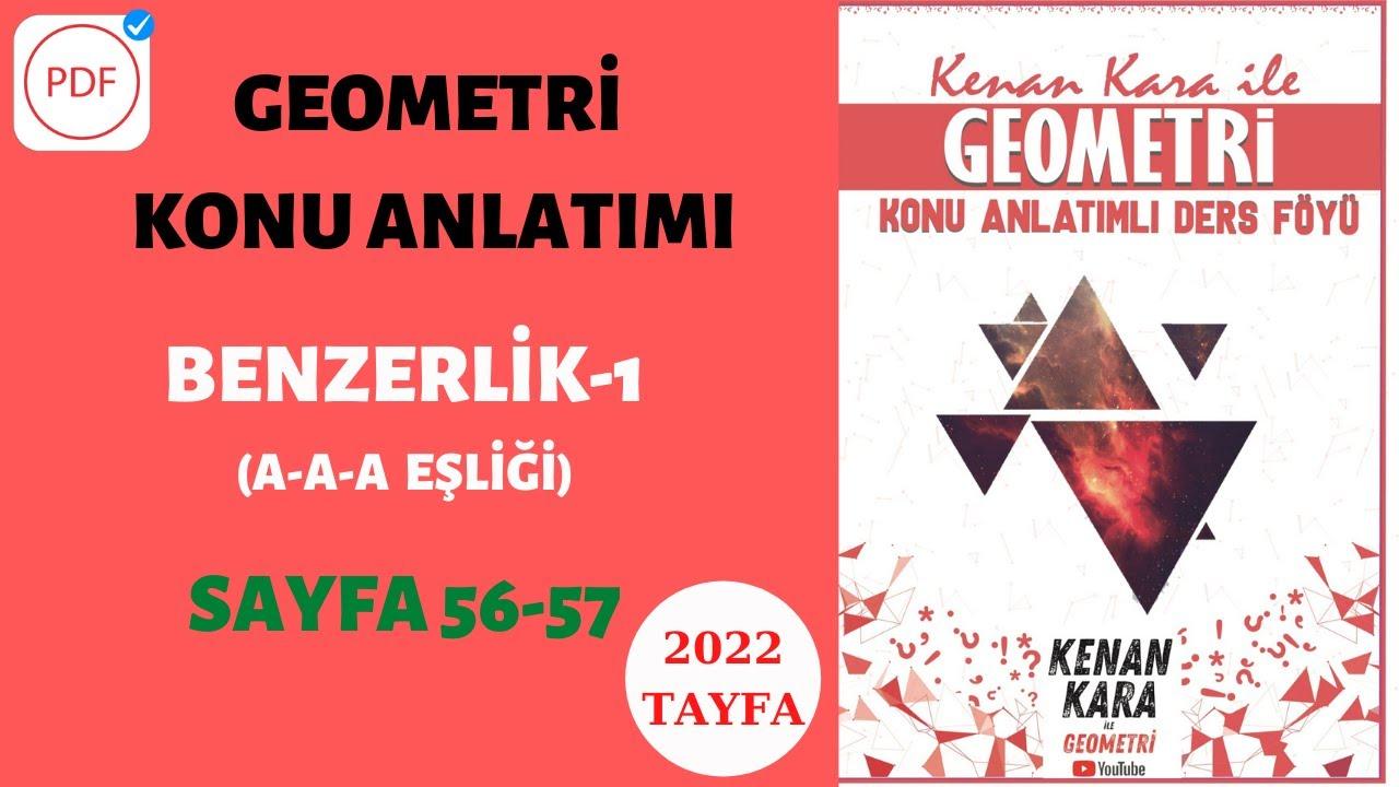 BENZERLİK-1 (A-A-A BENZERLİĞİ) (Geometri Konu Anlatımı)