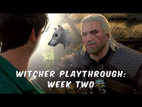 WITCHER PLAYTHROUGH | WEEK TWO thumbnail