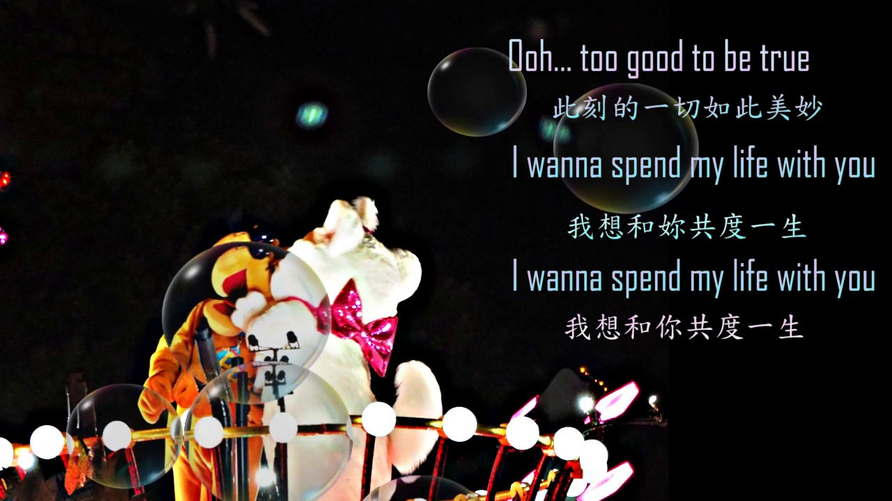 [中文歌詞/lyrics] EMILY HACKETT- Take My Hand 執子之手,與子偕老 (The Wedding Song)