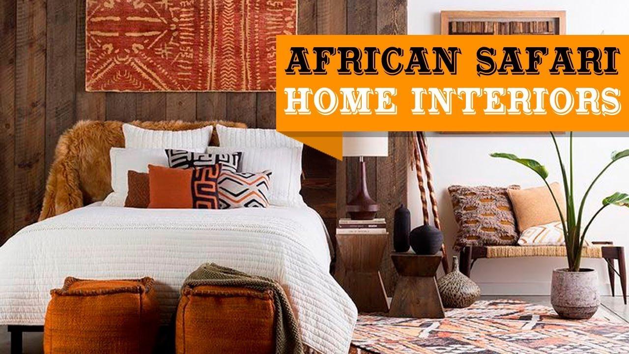 20 African Safari Home Decor Ideas