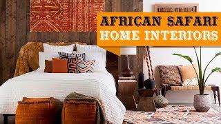 20+ African Safari Home Decor Ideas