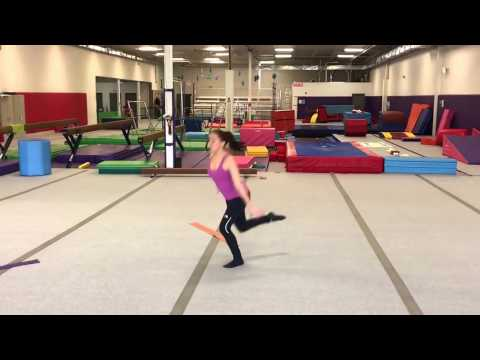 Isabella, level 6 'the arena' choreographer Dana (minus beginning)
