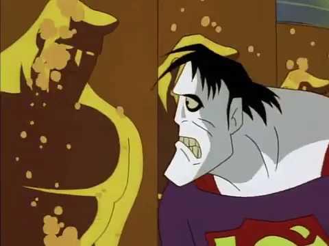 Bizarro saves Superman and Lois Lane